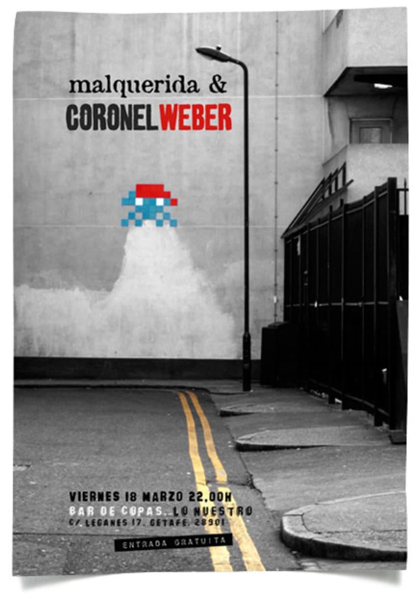 Carteleria Coronel Weber 2