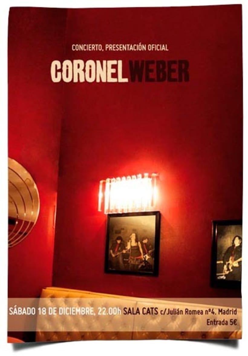 Carteleria Coronel Weber 1