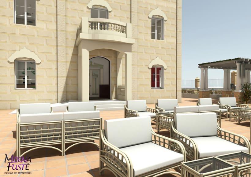 Restaurant & Copes Casa Mònaco 3