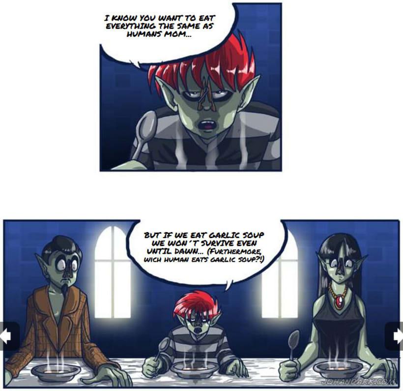 Lukard, the little vampire 3