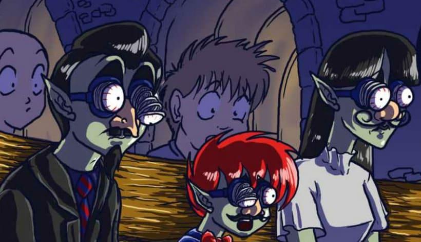 Lukard, the little vampire 2