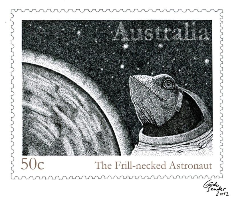 El lagarto astronauta 2