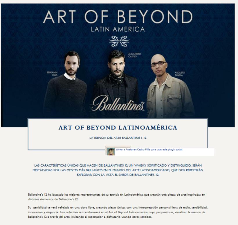 Art Of Beyond Ballantine´s 12 2