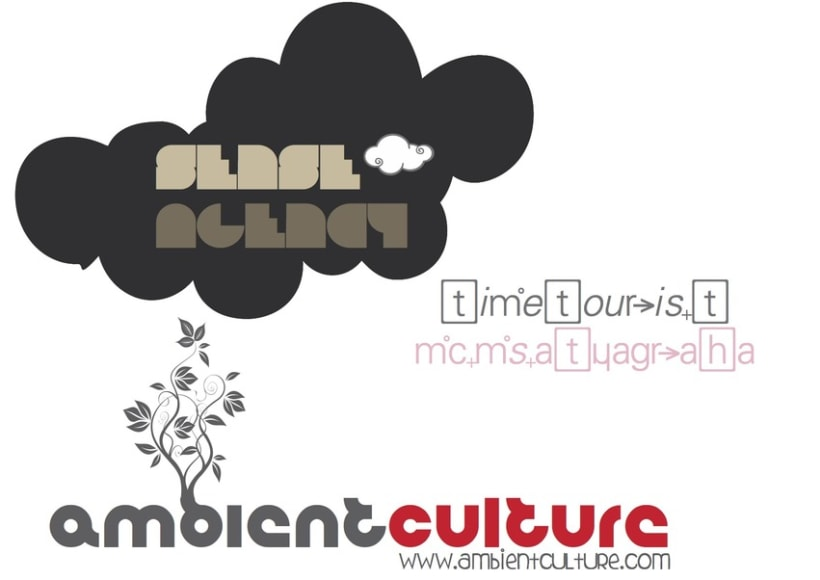 logo _ ambient culture / senseagency 1