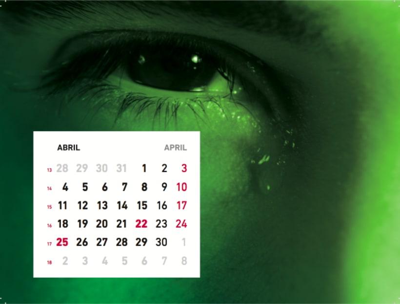 Calendario sensaciones 5