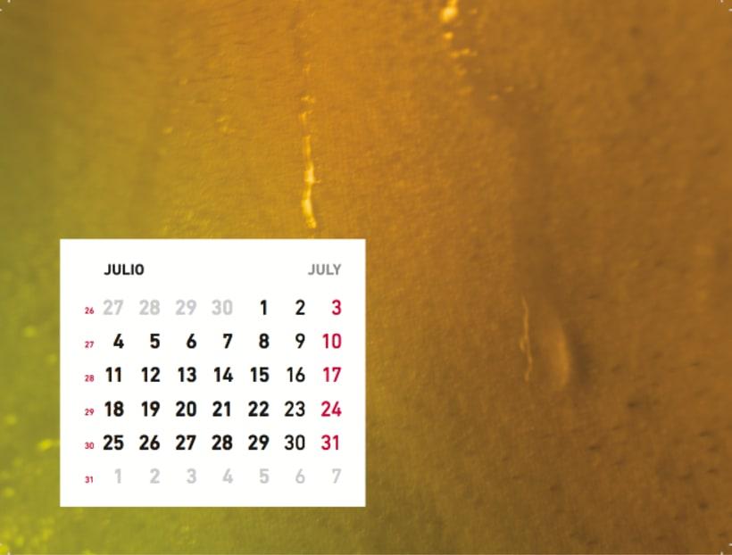 Calendario sensaciones 8
