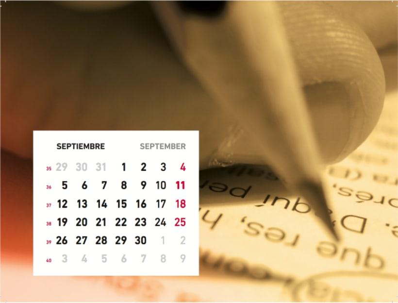 Calendario sensaciones 10