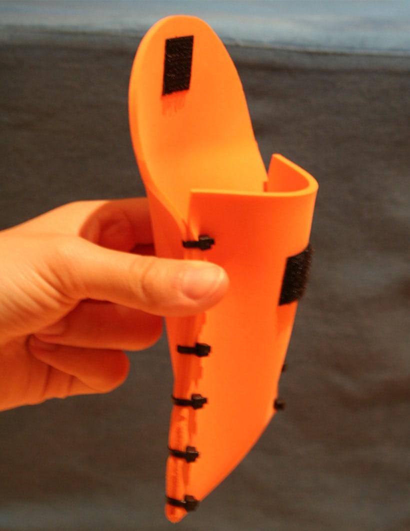 Orange Glove 2