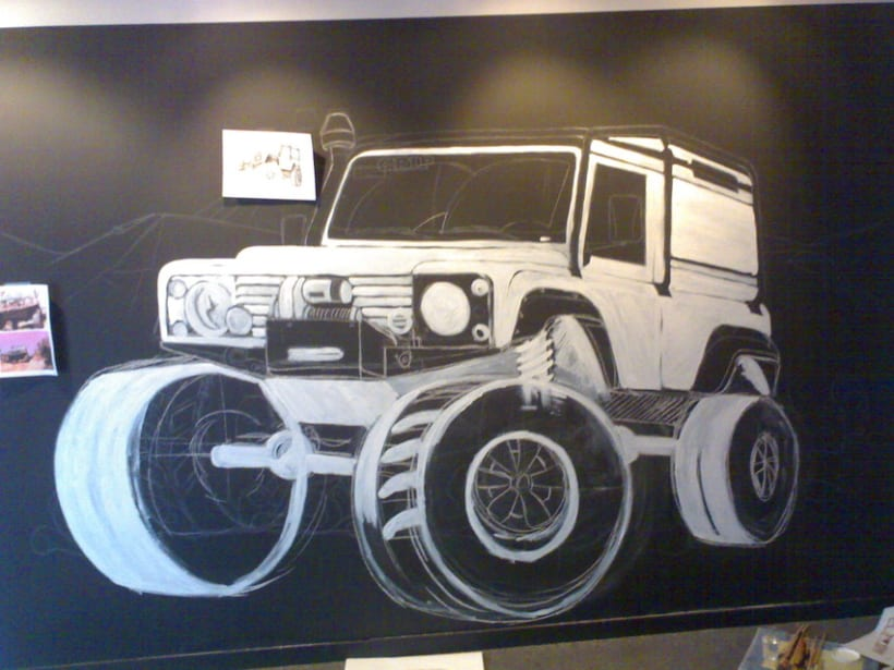 mural tienda grip 4x4 2
