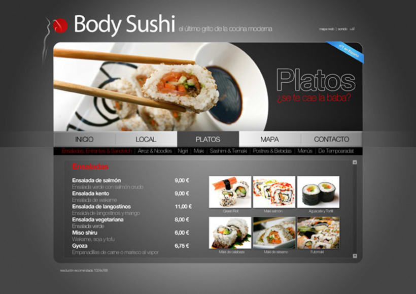 Body Sushi 3
