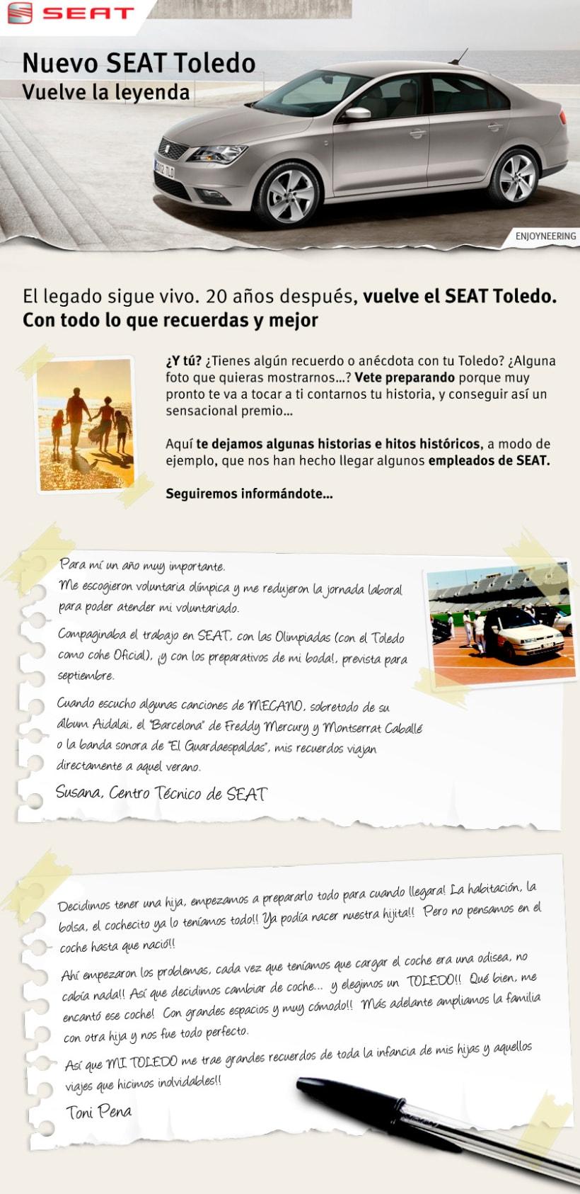 Promo FaceBook SEAT Toledo 1