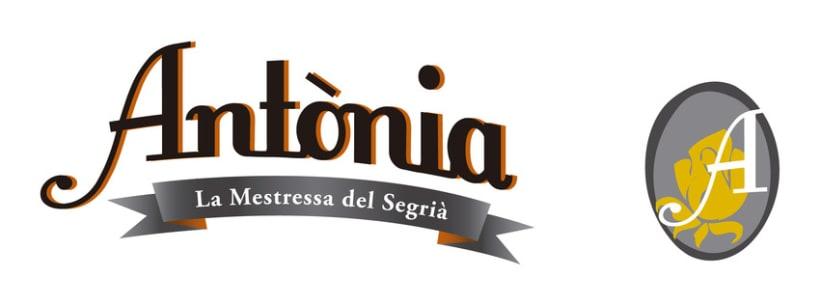 Creación Marca de Producto - Cerveza Antònia 2