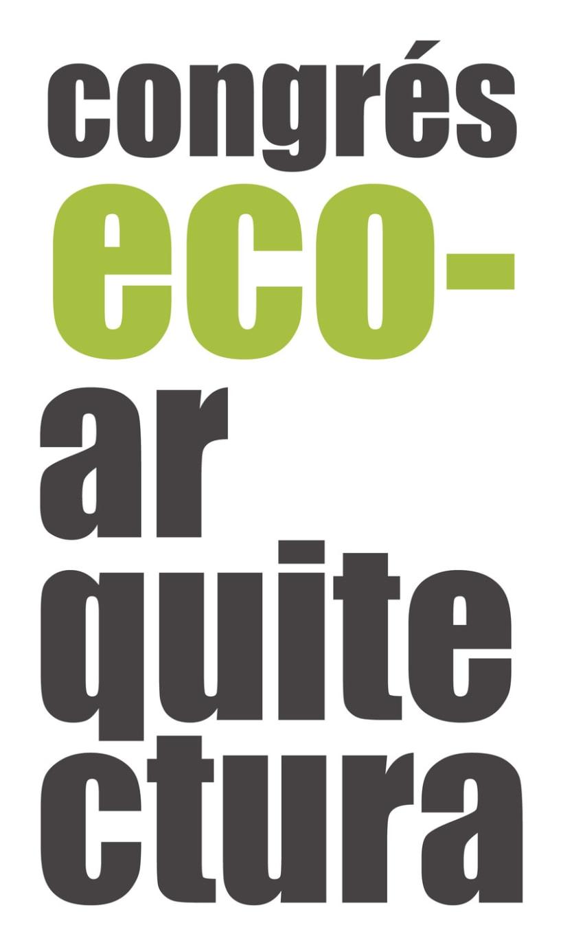 Logo - Congreso Ecoarquitectura 1