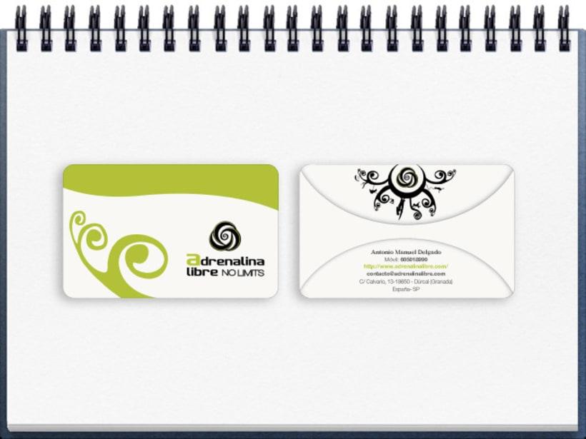 Identidad Corporativa Adrenalina Libre 20