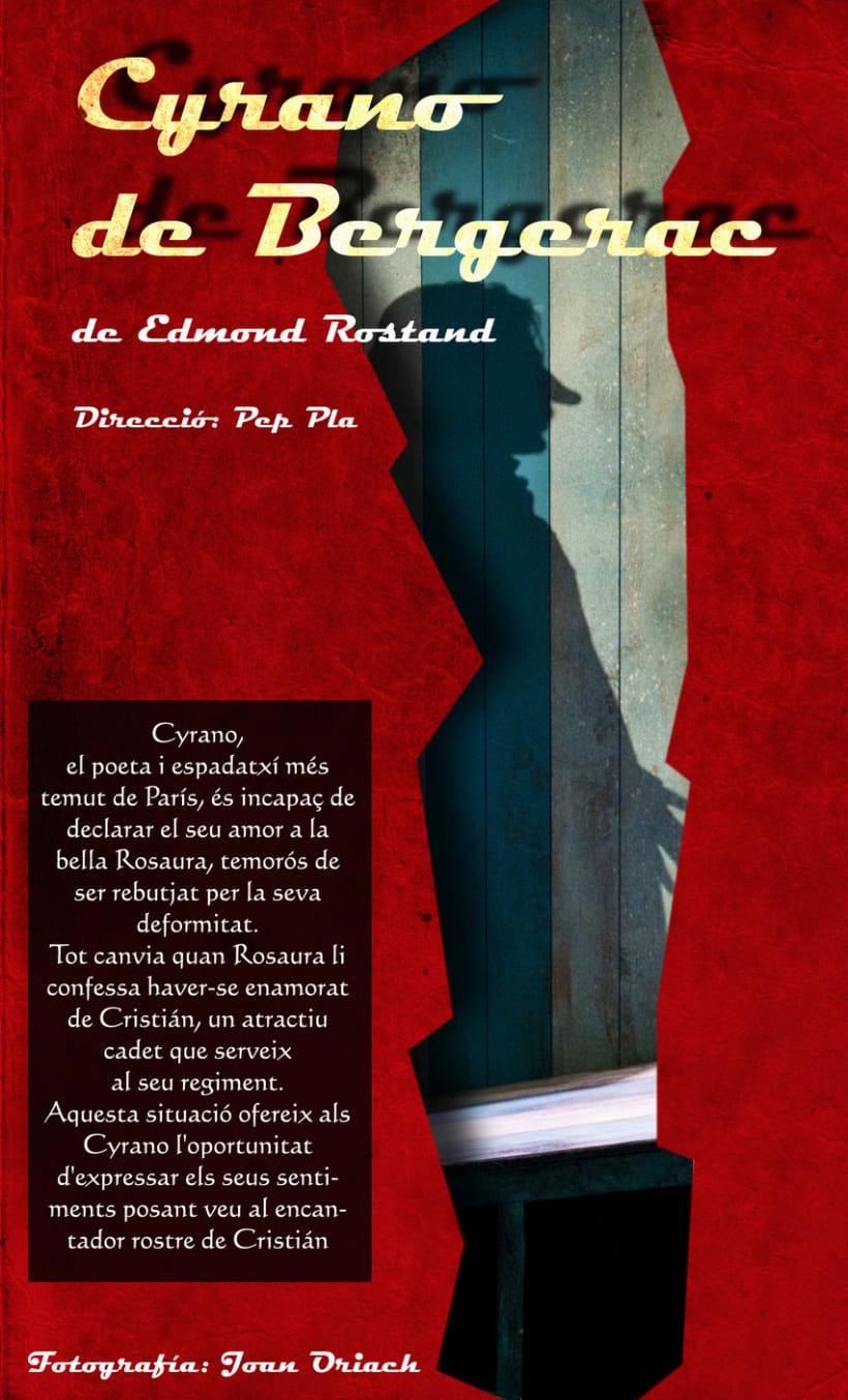 Flyer Cyrano de Bergerac - rediseño 3