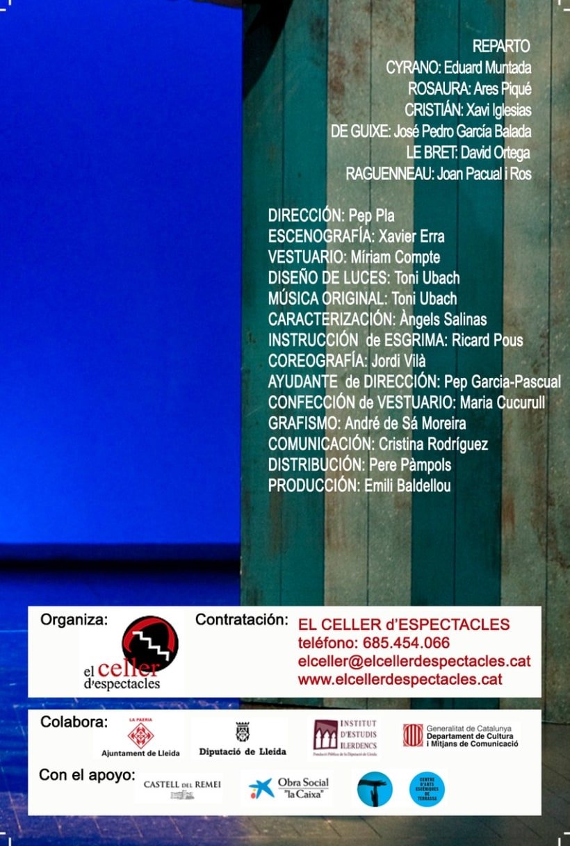 Flyer Cyrano de Bergerac - rediseño 4