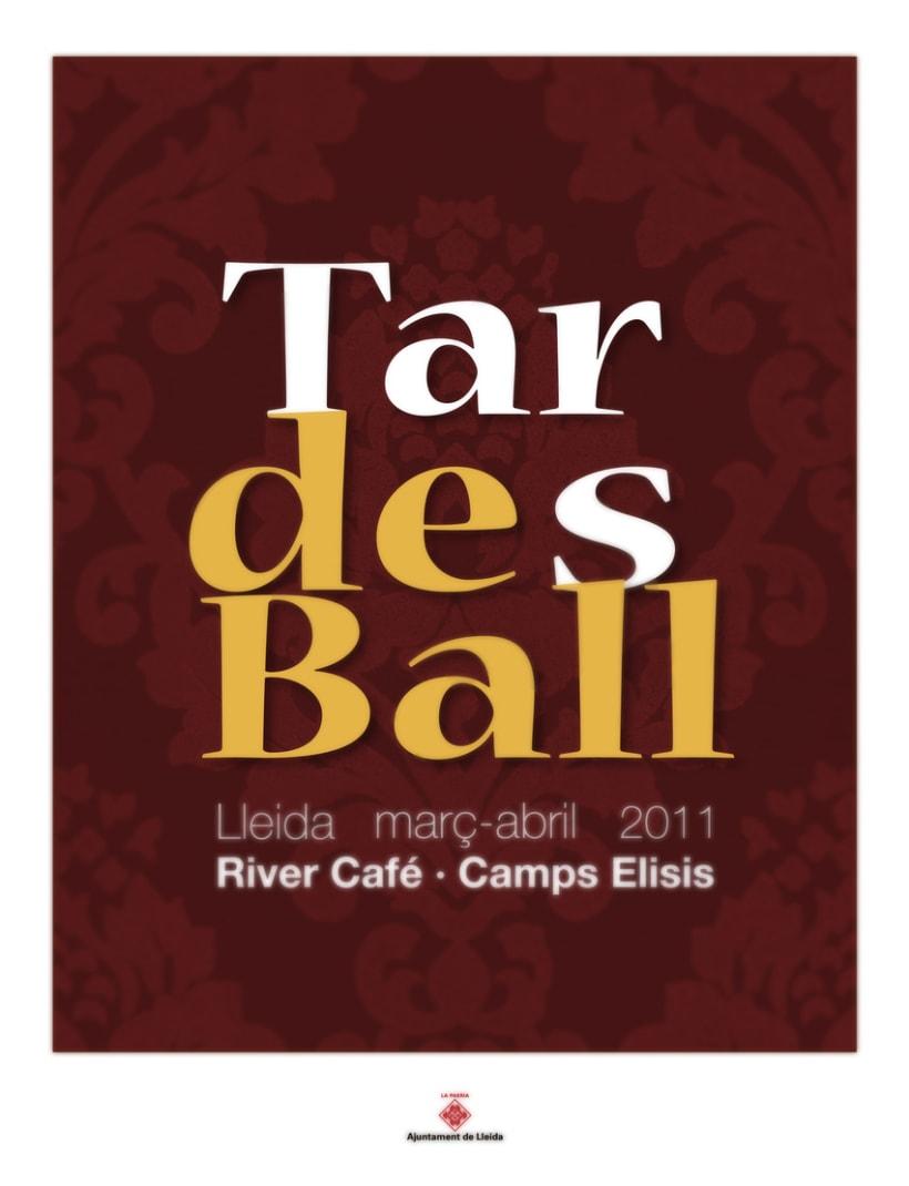 Cartel Tardes de Ball 2011 1