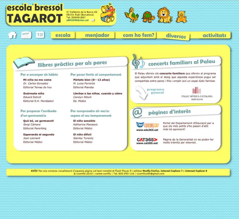 web Escola Bressol Tagarot 2