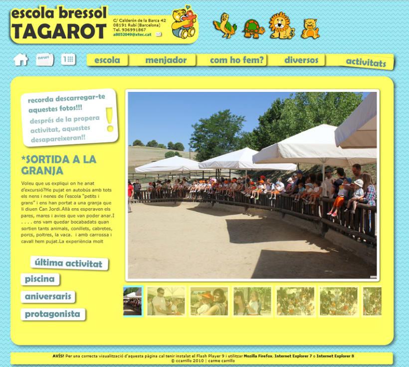 web Escola Bressol Tagarot 1