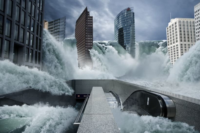 Fotomontaje Inundación 1