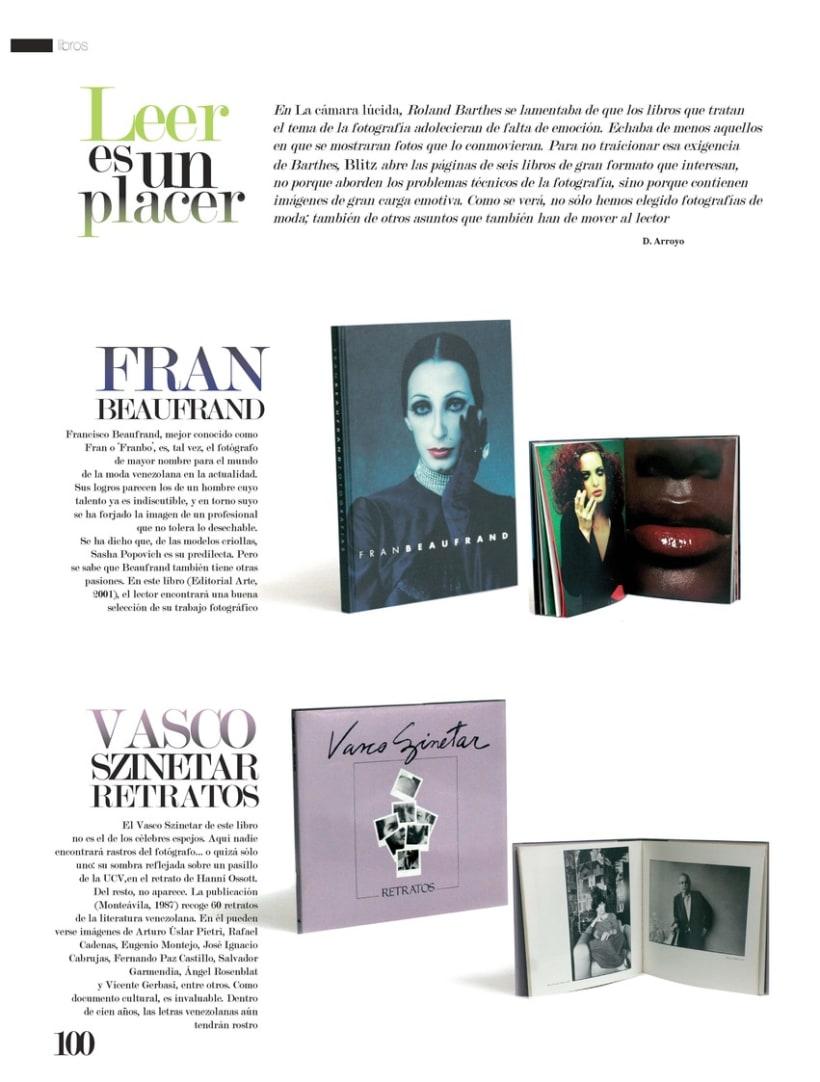 Secciones - Revista Blitz 3