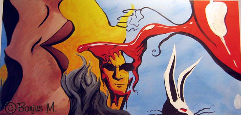 Ilustración y pintura tradicional. 16