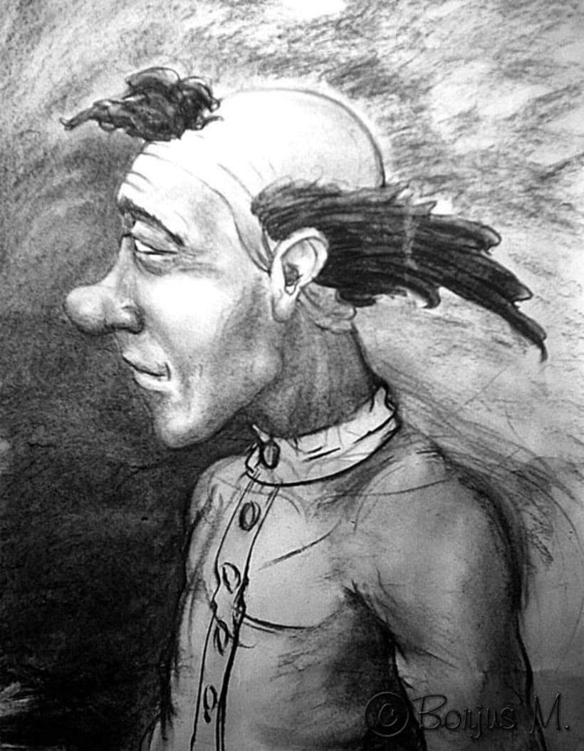 Ilustración y pintura tradicional. 15