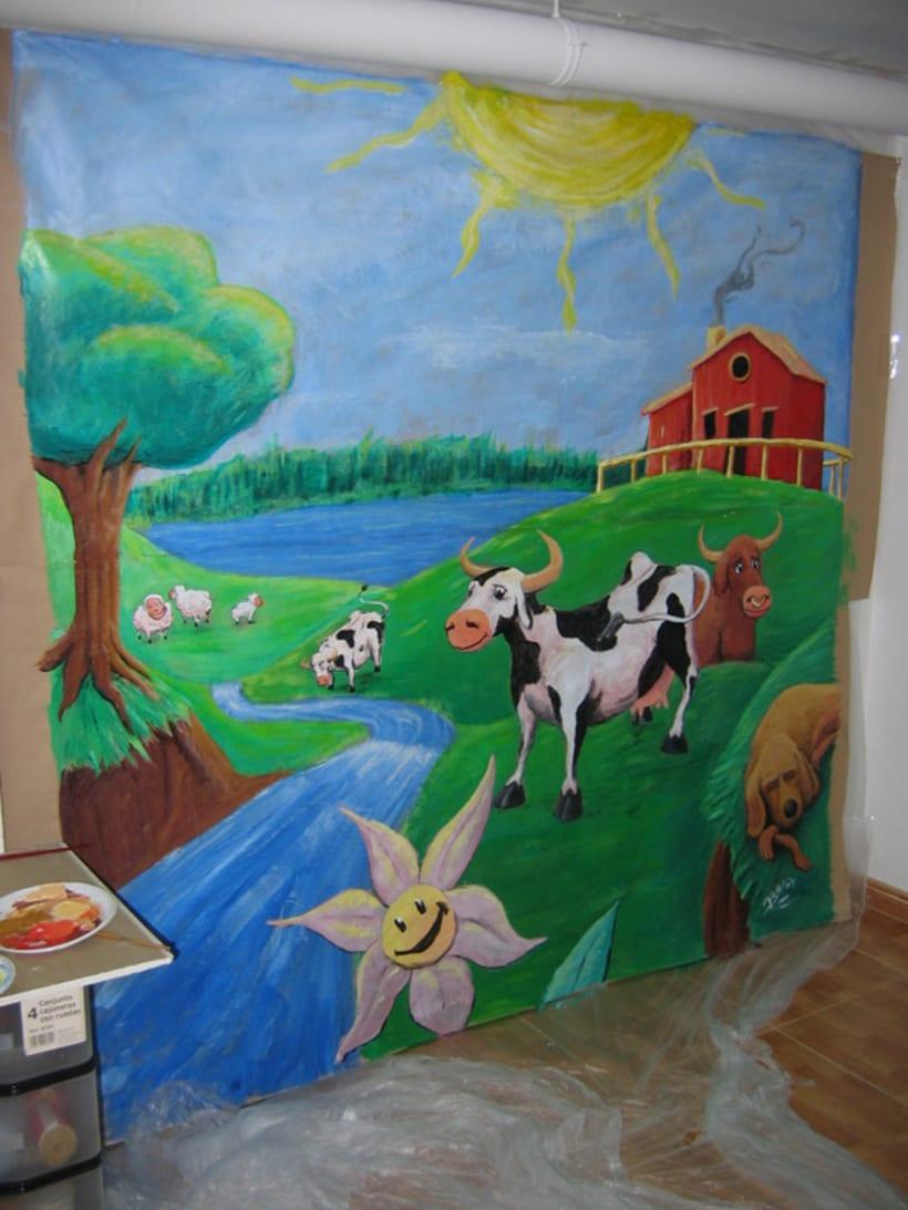 Ilustración y pintura tradicional. 22