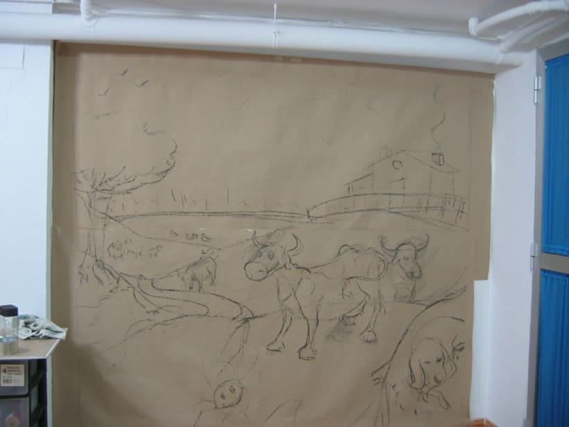 Ilustración y pintura tradicional. 21