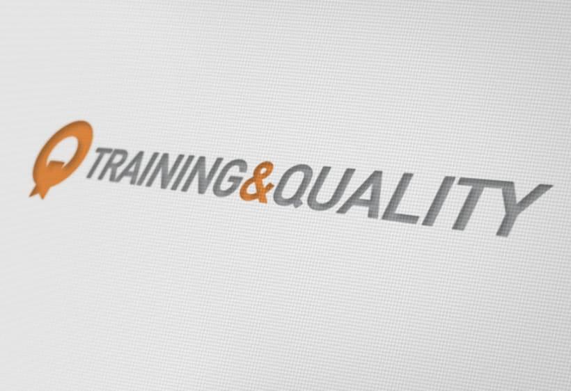 Identidad Corporativa Training&Quality 3