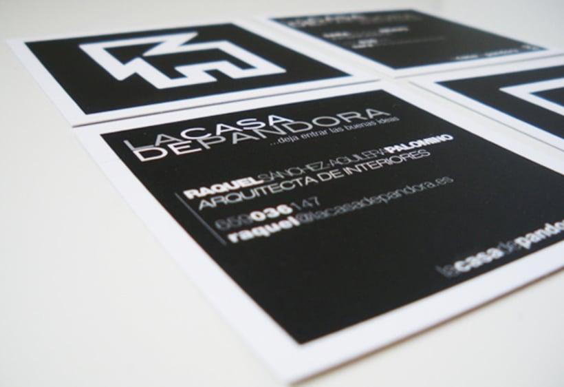 Identidad Corporativa LaCasaDePandora 4