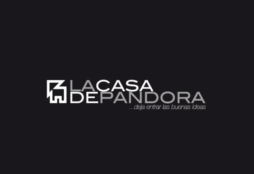 Identidad Corporativa LaCasaDePandora 2