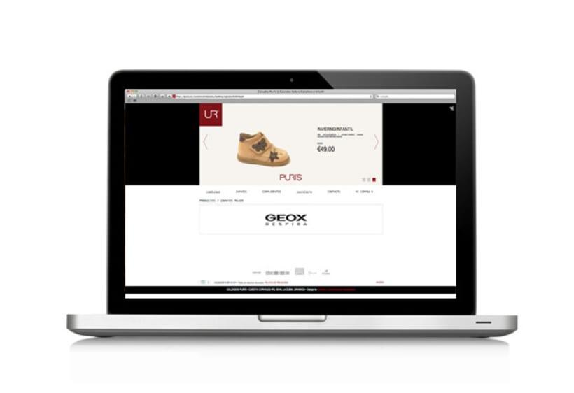 Website Calzados Puris 3