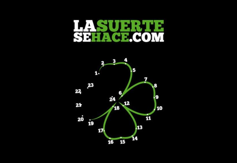 Campaña lasuertesahace.com 2