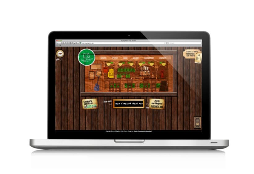 Website Gallagher's Irish Tavern 2