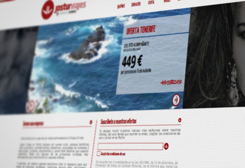 Website Jostur Viajes 1