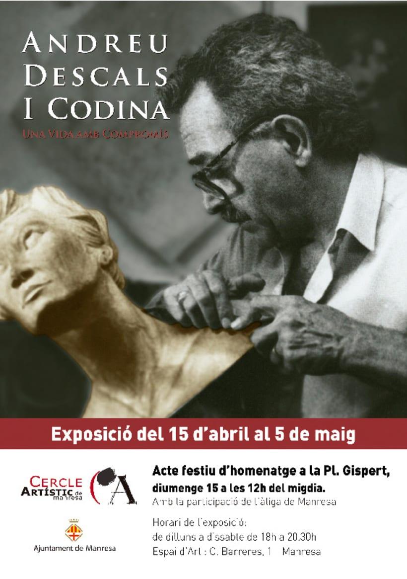 Cartell exposició Andreu Descals 2