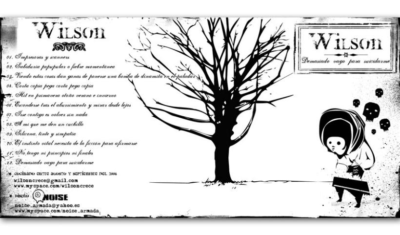 WILSON - CD | demasiado vago para suicidarme 1