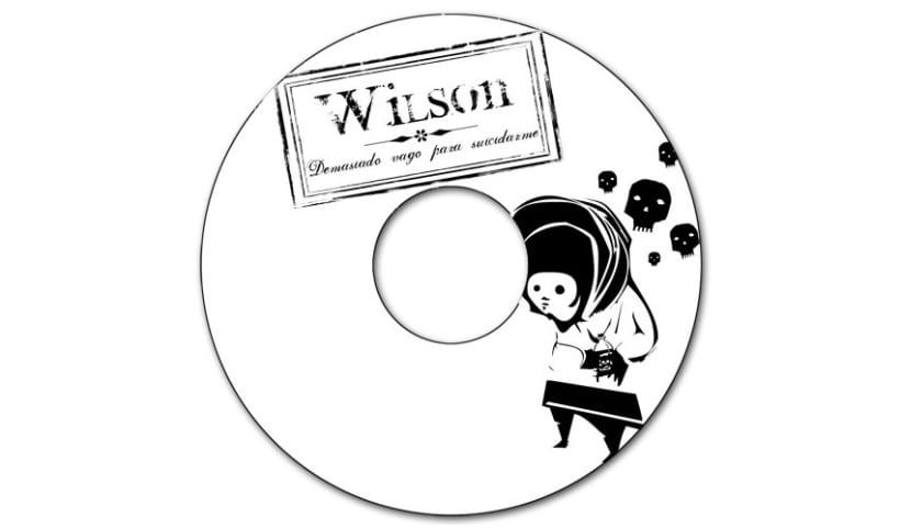 WILSON - CD | demasiado vago para suicidarme 2