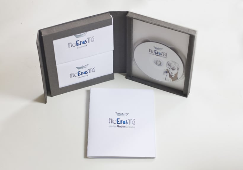 "Packaging ""No eras Tú"" 6"