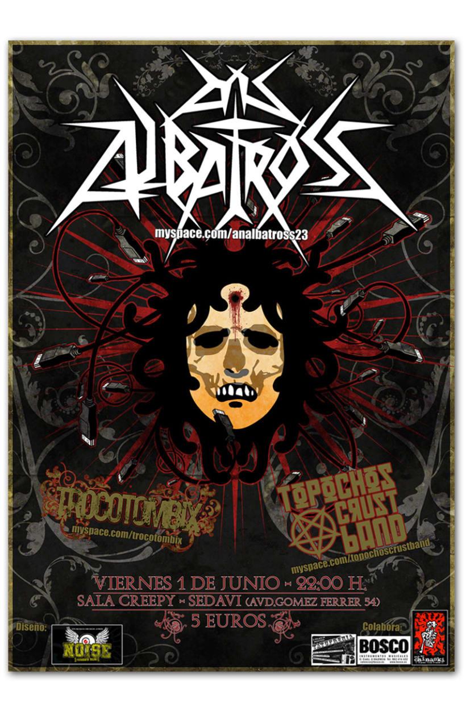 AN ALBATROSS + TROCOTOMBIX + TOPOCHO'S | Poster 1