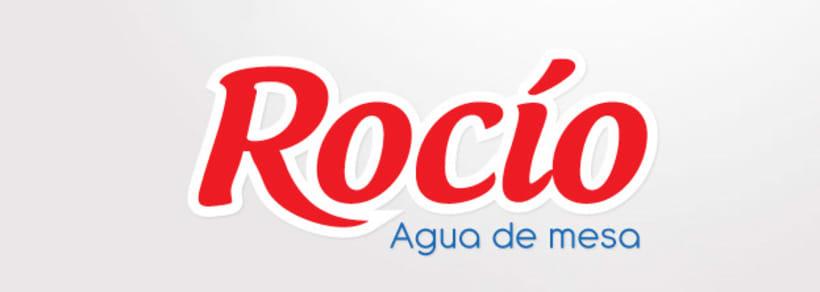 Etiqueta Agua Rocío 2