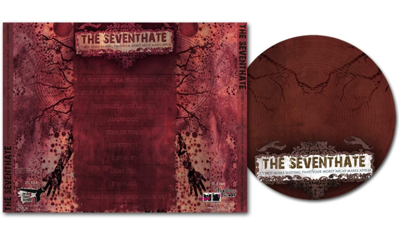 THE SEVENTHATE - CD | it's not while sleeping that your worst... 4