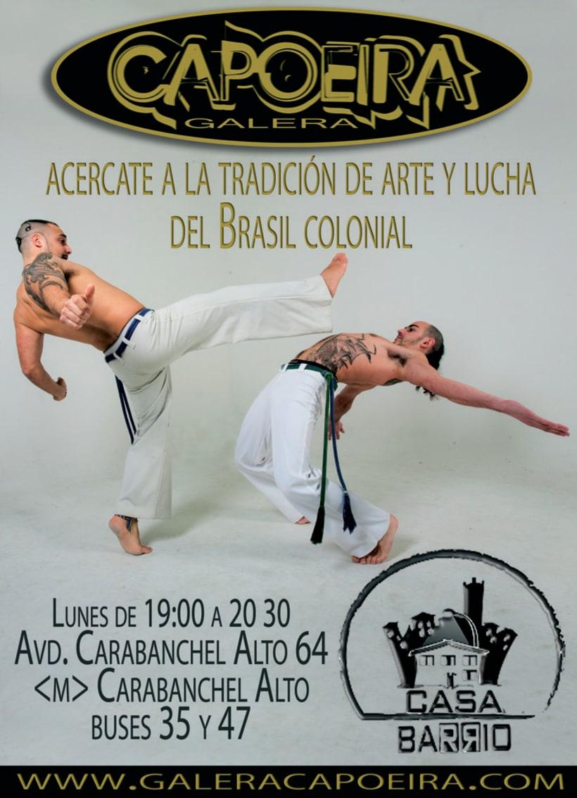 Imagen corporativa Galera Capoeira 7