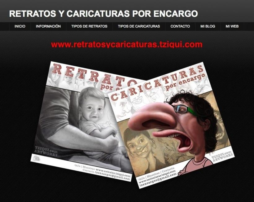 Retratos y caricaturas por encargo 4