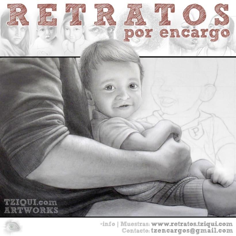 Retratos y caricaturas por encargo 2