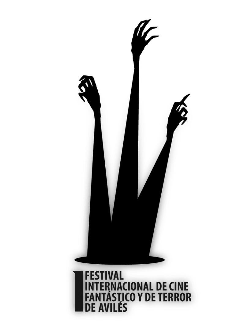 Logo Festival Internacional De Cine Fantástico Y Terror de Avilés 1