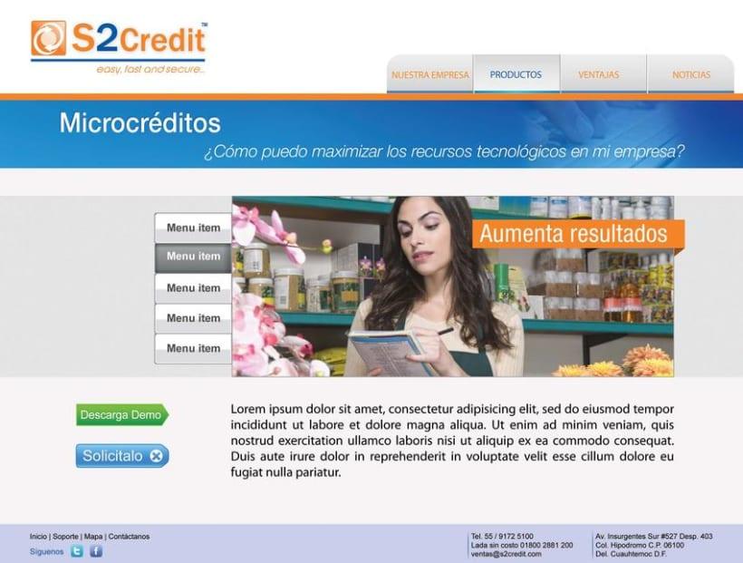 Diseño de web S2Credit 2