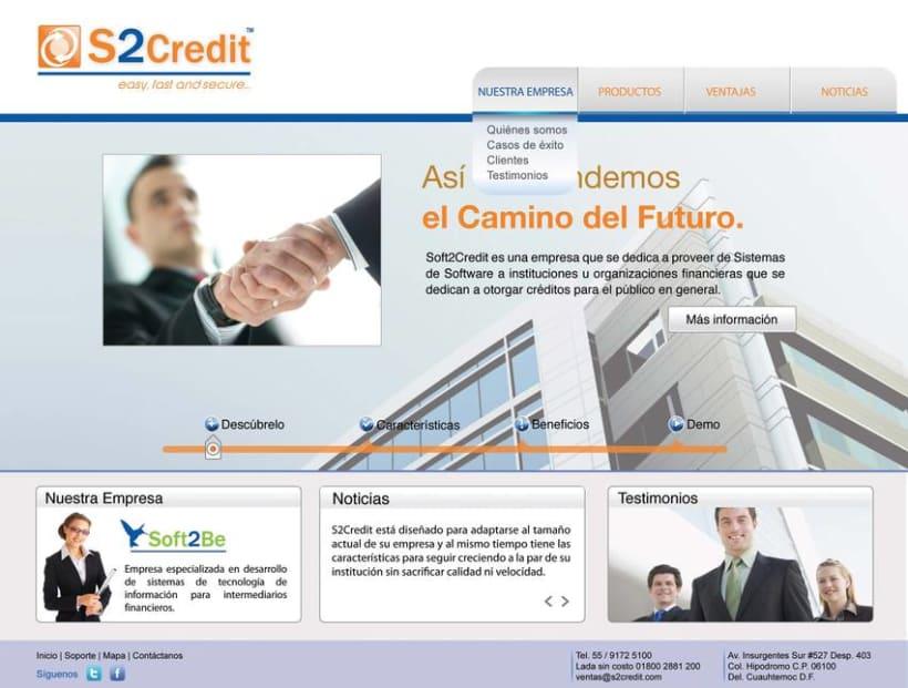 Diseño de web S2Credit 1