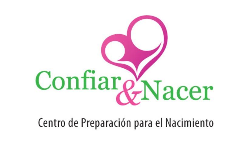 Logotipo Confiar y Nacer 1